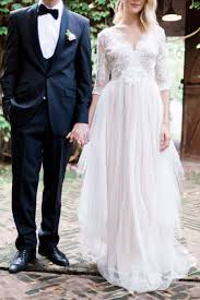 black tie wedding katya katya shehurina blush wedding dress