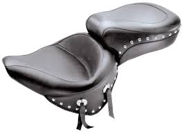 mustang seats for harley davidson mustang one wide studded touring seat 800 283 j p cycles