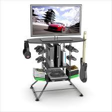 atlantic furniture gaming desk black carbon fiber atlantic inc centipede game storage tv stand black carbon fiber