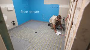 comfort heat australia how to install in screed electric floor