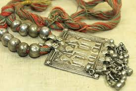 silver necklace from india images Antique silver hindu gods pendant necklace from india jpg