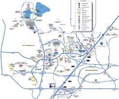 Driving Maps Walt Disney World Property 2001 Theme Park Maps Pinterest Best Of