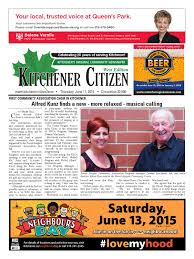 kitchener citizen west edition june 2015 by kitchener citizen