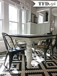 diy farmhouse dining room table u2014 tfd style