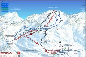 New York Ski Resorts Map by