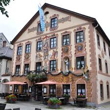 painted houses the exuberance of bavaria rossi writes