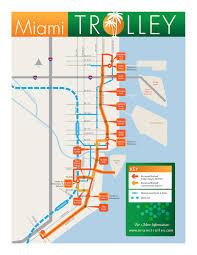 Miami Dade Transit Map by Miami Riches Real Estate Blog Miami Dade Trolley