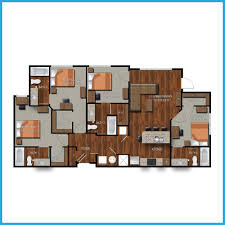 4 bedroom apartment floor plans college station four bedroom apartments northpoint crossing