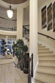 Accents Home Decor Westin Homes Houston Home Builders Curved Staircase Dark