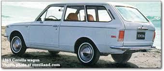 1970 toyota corolla station wagon rear wheel drive toyota corolla cars 1966 1983