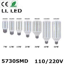 1pcs high lumen led corn bulb e27 e14 7w 12w 15w 25w 30w 40w 50w