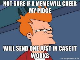 It Works Meme - not sure if a meme will cheer my pidge will send one just in case it