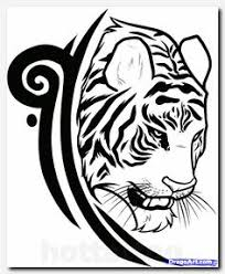 like the pointillism or dotwork on this tiger tattoos