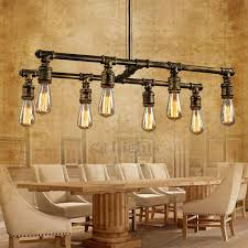 industrial style lighting 8 light industrial style lighting fixtures bar counter