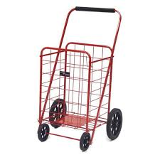 easy wheels red super shopping cart 002 r rd the home depot