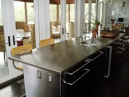 stainless steel kitchen island stainless steel countertops custom
