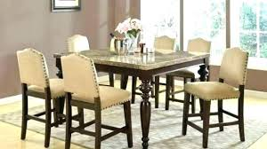 tall dining table and chairs tall dining room tables sets special home and interior remodel