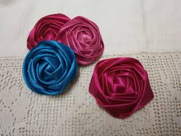 ribbon flowers diy ribbon tutorial how to fabric flowers easy