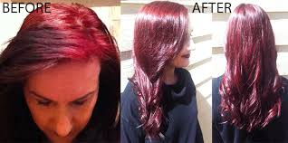 ginger hair color at home color correction case study 2 barberia