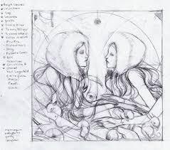 art illustration by marjolein caljouw oscar de la renta fashion