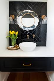 Powder Room Makeover Ideas Best 25 Black Powder Room Ideas On Pinterest Black Bathroom