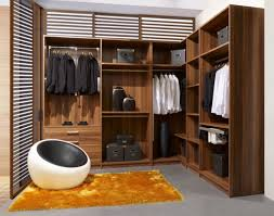 l shaped closet storage