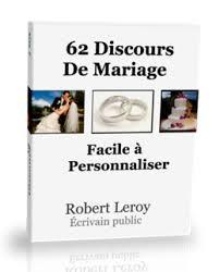 exemple discours mariage original discours de mariage à télécharger