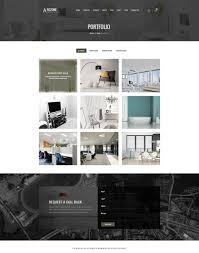 Home Design Decor Shopping Website by Arczone Interior Design Decor Architecture Business Template