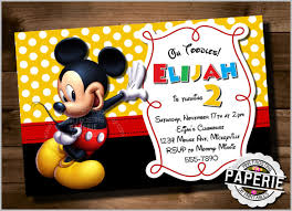mickey mouse party invitations templates free printable mickey