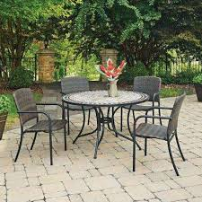 Marble Patio Table Marble Patio Dining Sets Patio Dining Furniture The Home Depot
