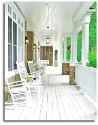 exterior attractive image of front porch decoration using single