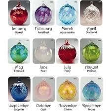 glass blown ornaments