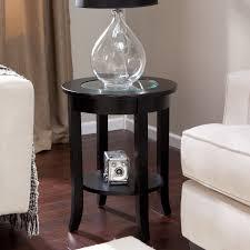 Glass End Tables For Living Room Amusing Storage End Tables For Living Room Home Furniture