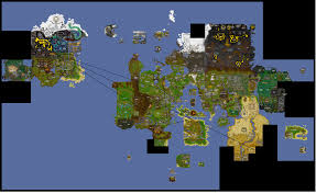 Oldschool Runescape World Map by Not Sure First Try At The The Clue Mod Hints Needing Water