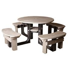 round plastic picnic table grey round plastic picnic table for 8 schools outdoor furniture