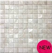 shell mosaic tile kitchen backplash waterproof bathroom wall