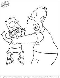 simpsons coloring pages 16 coloring pages kids