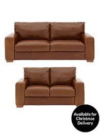 Leather Sofa Beds Uk Sale Huntington 3 Seater 2 Seater Italian Leather Sofa Set Buy And