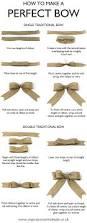 How To Make The Perfect How To Make The Perfect Bow Diy Tutorial Christmas Pinterest