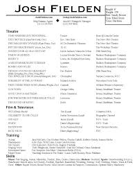 Sample Recruiter Resume by Abigail Hardin Designs Actor Resumes