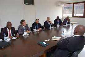 affaire bureau business une délégation d hommes d affaires américains conduite