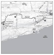 Tettegouche State Park Map by Hike From Lutsen To Grand Marais Mn On The Sht