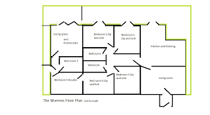 floor plan with scale the warrens floor plan not to scale camber accommodation