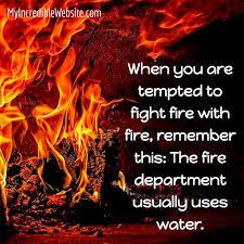 Fire Meme - fight fire with fire meme my incredible website