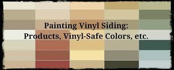 painting vinyl siding is getting better paints formulated for