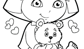 nick jr dora printable coloring pages printable dora coloring pages free printable and coloring pages nick