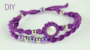 macrame bracelet tutorials images 32 diy macrame bracelet patterns macram bracelet tutorials jpg