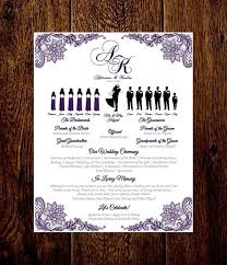 customized wedding programs 18 best wedding silhouette programs images on wedding