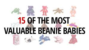 15 of the most valuable beanie babies youtube