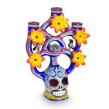 Day Of The Dead Home Decor These Decor Ideas Will Get Your Home Dia De Los Muertos Ready Vix